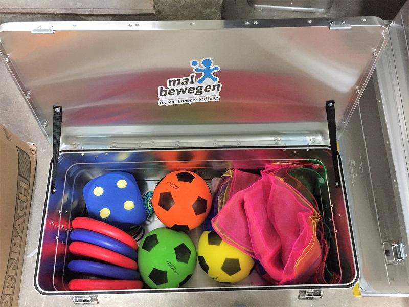 mal-bewegen-Box - Spielematerial für Grundschulkinder